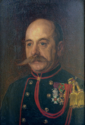 Antique Military Portrait