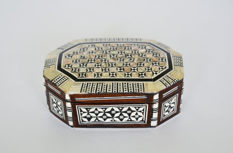 Small Inlaid Syrain Box