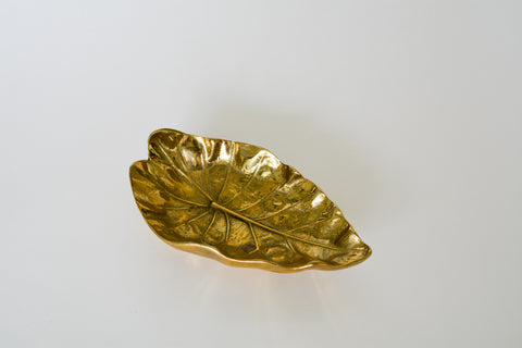 Virginia Metalcrafters Brass Taro Leaf