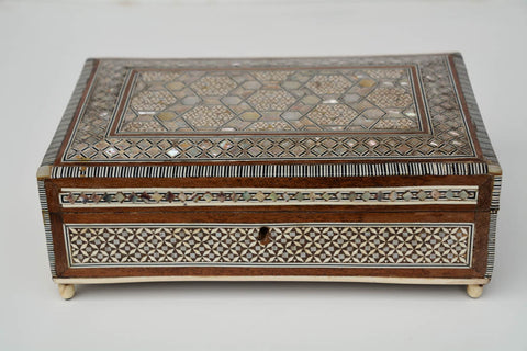 Inlaid Antique Syrian Box