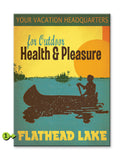 Lake Vacation Sign