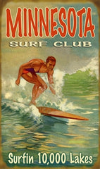Minnesota Surf Club sign - MN Surf Co
