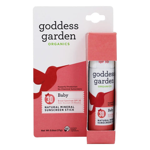 Goddess Garden Baby Natural Sunscreen Stick
