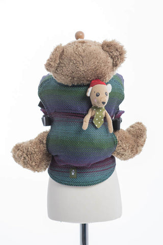 Lenny Lamb Doll Carrier - LitttleHerringbone Impression dark