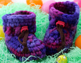 Wullyz Wool Booties Size 0/0 ( newborn )
