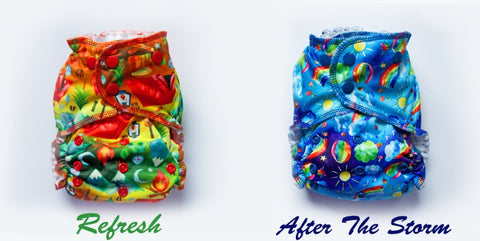 Easy Peasies G4 Lil' Squish New Born Diaper -Refresh  & After The Storm * Pre-Order*