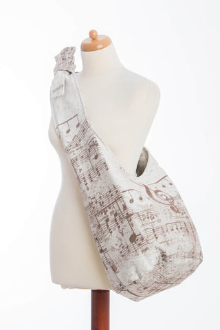 Lenny Lamb Hobo Bag  -  Symphony Brown & Creme