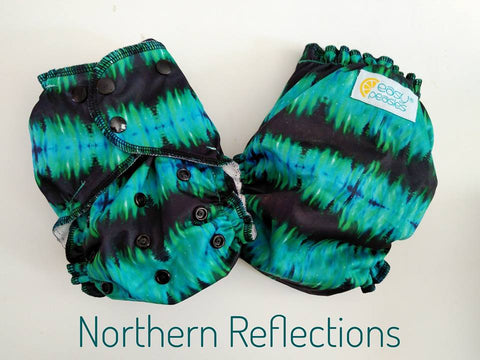 Easy Peasies One Size Pocket Diaper - Northern Reflections