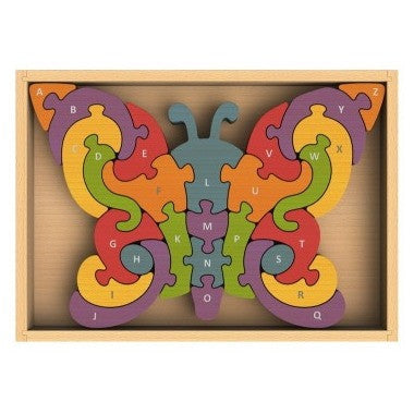 BeginAgain - Butterfly A-Z Puzzle