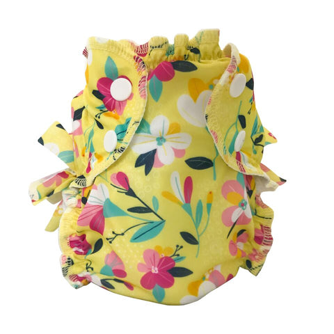 AppleCheeks Washable Swim Diaper - Bloom
