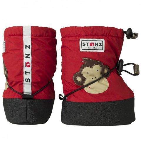 Stonz Red Monkey Bootie