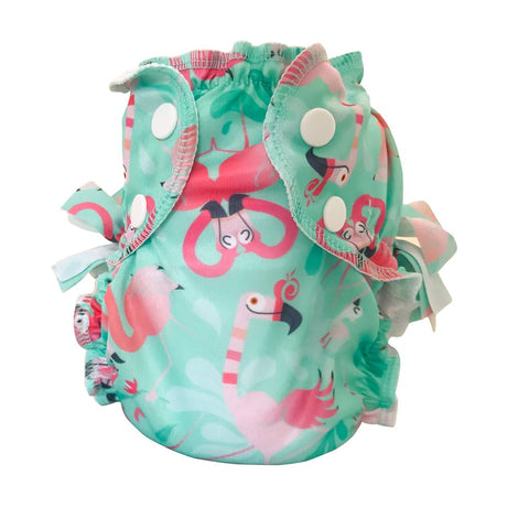 Applecheeks Washable Swim Diaper - Flamingle