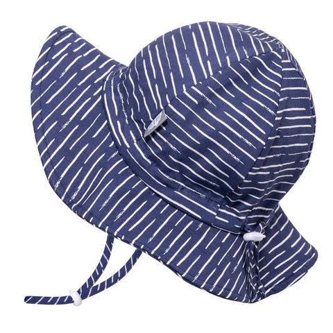 Jan & Jul Gro-With-Me Sunhat - Navy Waves