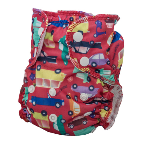 AppleCheeks One-Size Swim Diaper - I Car!