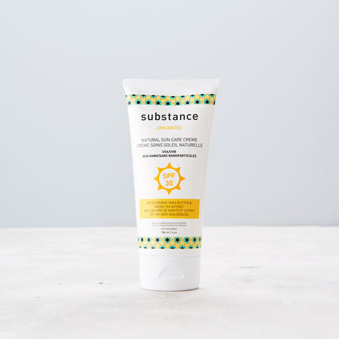 Substance Unscented Natural Suncare creme SPF30