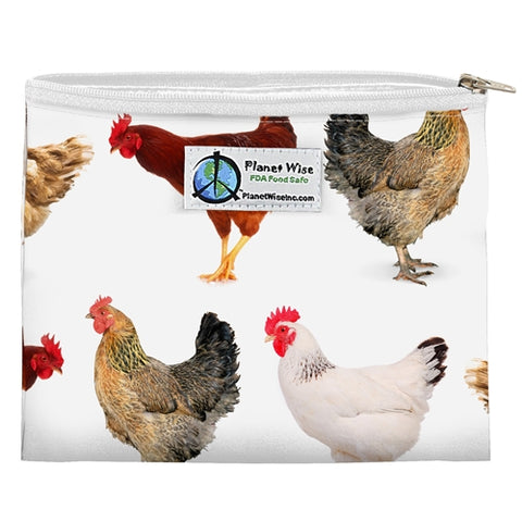 Planetwise Zipper Sandwich Bag - Mother Clucker