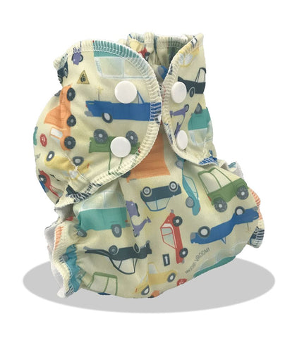 Applecheeks Pocket Diaper - Who Cars?