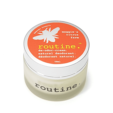 Routine . Natural Deodorant - Maggie's Citrus Farm