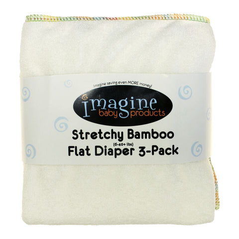 Imagine Bamboo Stretchy Flats (3 PK)