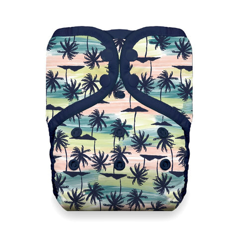 Thirsties One Size Pocket Diaper - Palm Paradise