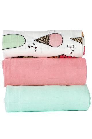 Tula Blanket Set - Triple Scoop