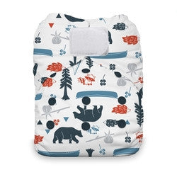 Thirsties Natural  One Size All In One Diaper ( various Prints )