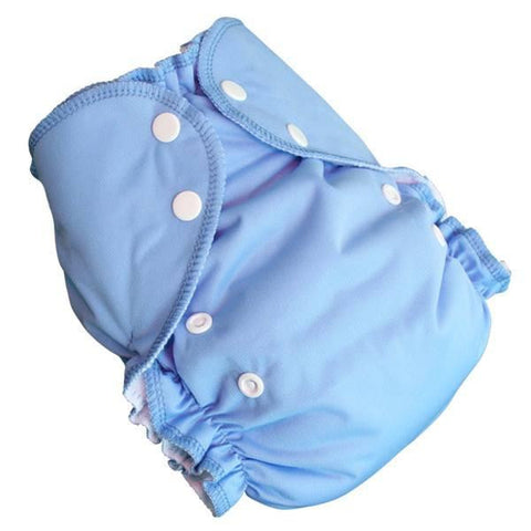 AMP One-Size Duo Diaper - Medium Blue