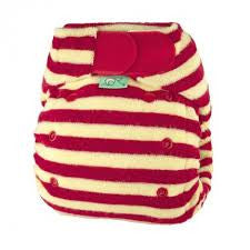Tots Bots Bamboozle Stretch Bamboo Fitted - Berry
