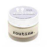 Routine . Natural Deodorant - Bonnie n' Clyde(Unscented)
