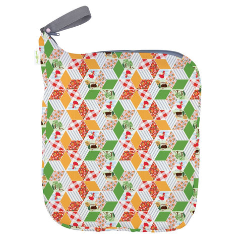 Bumgenius Weekender Wet Bag - Patchwork