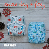 Thirsties * New Winter Release * Foxy & Snow Day
