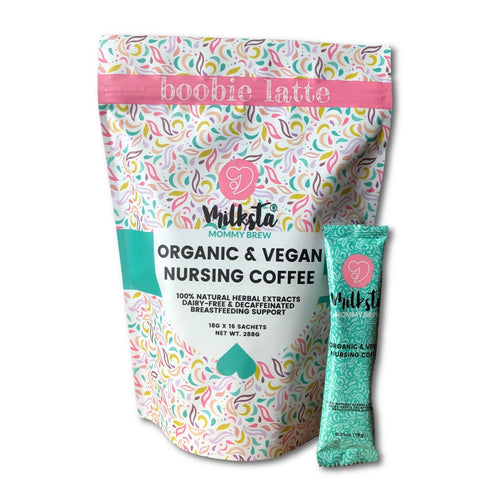 Milksta Vegan & Decaf Lactation Coffee