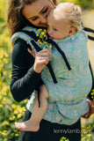 LennyUP Carrier - Twisted Leave Breath of Summer  (76% cotton, 12% linen 7%  silk 5% baby alpaca - 250gsm )