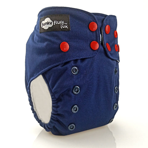 Funky Fluff O/S - Pocket Diaper (Solids)