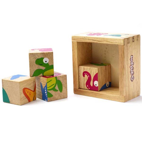 BeginAgain Buddy Blocks - Sealife Characters