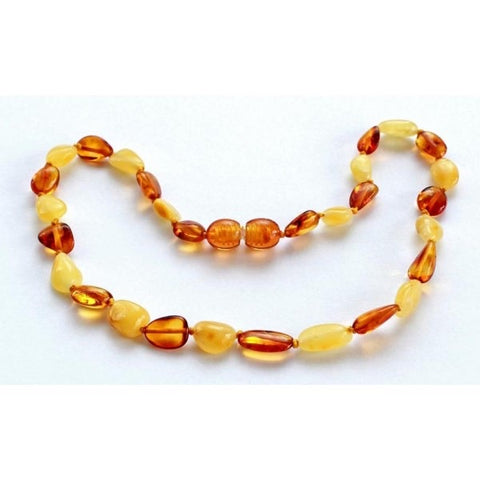 Punkin Butt Amber Teething Necklace