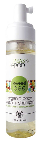 Peas in a Pod - Organic Body Wash & Shampoo