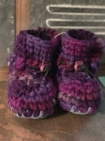 Wullyz Original Wool Booties - Size 6/7