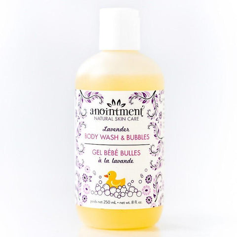 Anointment Lavender Bubble Bath and Body Wash (250 mls)