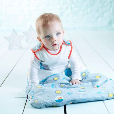 Gro-Bag 0-6 months 1.0 Tog - to the moon