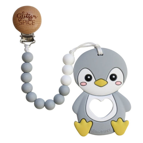 Glitter & Spice - Penguin Teether