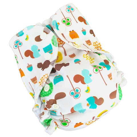 AMP One-Size Duo Diaper - Nutty by Nature