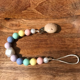 Rainbow River Crafts Pacifier Clip