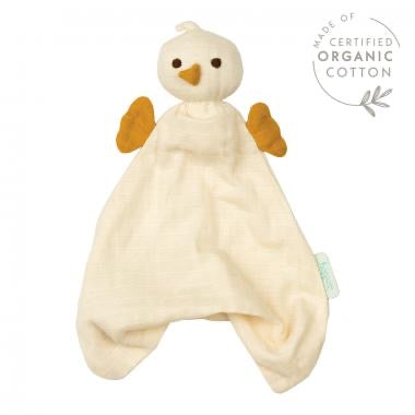 Hoppa Organic Muslim Bonding Doll | Pico | Cream