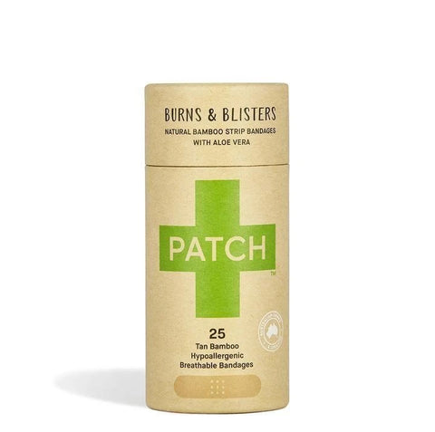 Patch Aloe Vera biodegradable adhesive bandages