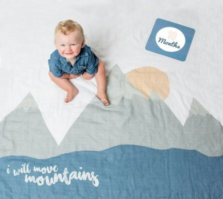 Lulujo Baby's 1st Year set -I Will Move Mountains