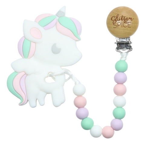 Glitter & Spice - Unicorn Teether
