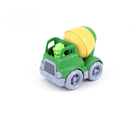 Mixer Construction Truck - green/yellow