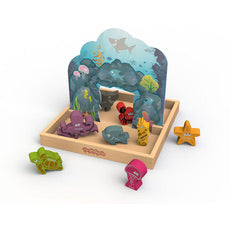 BeginAgain Color 'N Sea Playset