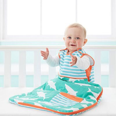 Gro-Bag 0-6 months 1.0 Tog - pocket full of fins